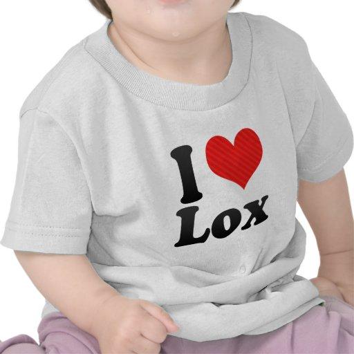 I Love Lox Tshirts