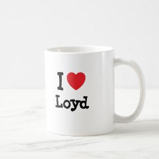 I love Loyd heart custom personalized Coffee Mug