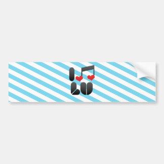 I Love Lu Bumper Sticker