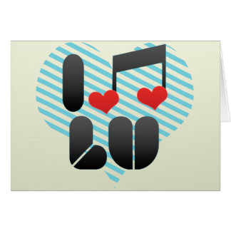 I Love Lu Card
