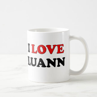 I Love Luann Coffee Mugs