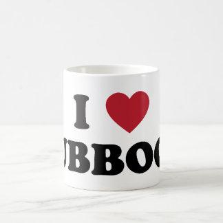 I Love Lubbock Texas Classic White Coffee Mug