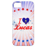 I Love Lucas, Kansas iPhone 5 Covers