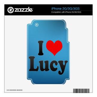 I love Lucy iPhone 2G Skin