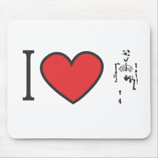 I Love Lucy Mouse Pad