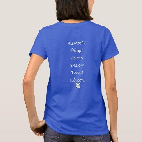 I love Lucy shelter dog dark T_Shirt