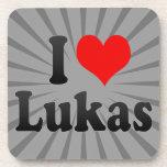 I love Lukas Coasters