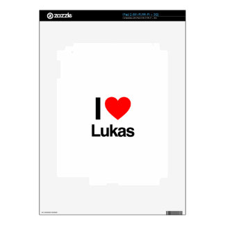 i love lukas skin for the iPad 2