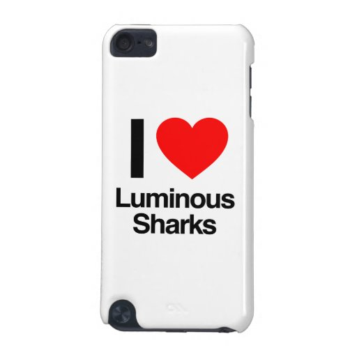 i love luminous sharks iPod touch 5G cover