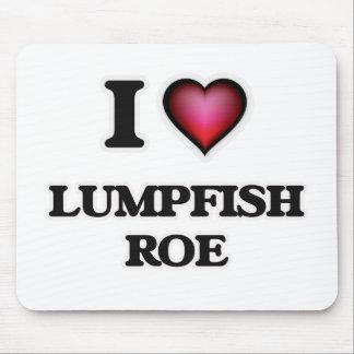 I Love Lumpfish Roe Mouse Pad