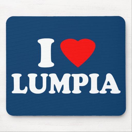 I Love Lumpia Mousepad