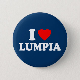 I Love Lumpia Pinback Button