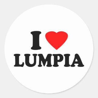 I Love Lumpia Sticker