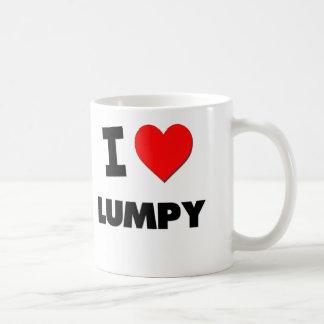 I Love Lumpy Classic White Coffee Mug