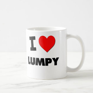 I Love Lumpy Coffee Mug