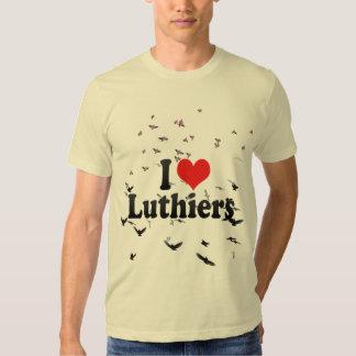 I Love Luthiers Tshirts