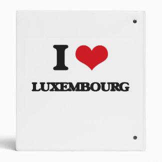 I Love Luxembourg Binder