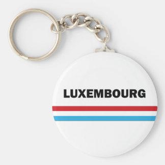 I Love Luxembourg Keychain