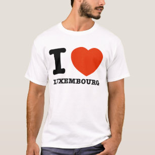 I LOVE LUXEMBOURG T-Shirt
