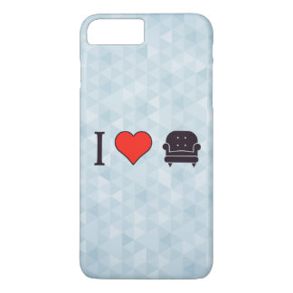 I Love Luxurious D�cor iPhone 8 Plus/7 Plus Case