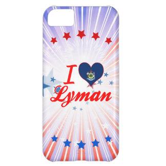 I Love Lyman, Maine iPhone 5C Case