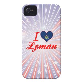 I Love Lyman, Maine Case-Mate iPhone 4 Cases