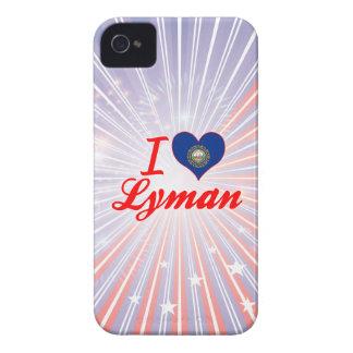 I Love Lyman, New Hampshire iPhone 4 Cases