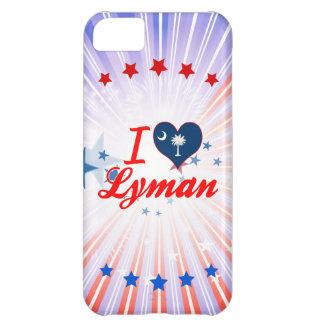 I Love Lyman, South Carolina iPhone 5C Cases