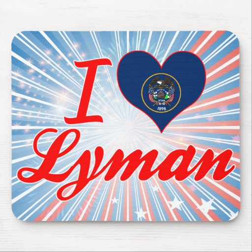 I Love Lyman, Utah Mouse Pad