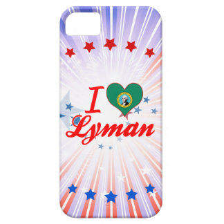 I Love Lyman, Washington iPhone 5 Cases