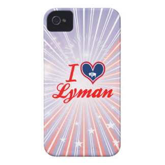 I Love Lyman, Wyoming iPhone 4 Case-Mate Cases