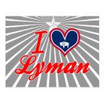 I Love Lyman, Wyoming Post Card
