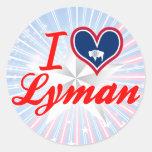 I Love Lyman, Wyoming Sticker