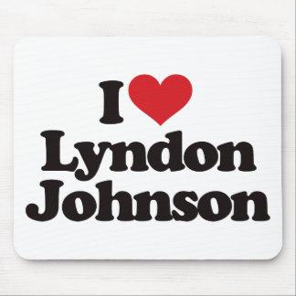 I Love Lyndon Johnson Mousepad