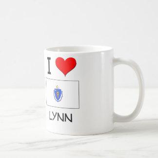 I Love Lynn Massachusetts Classic White Coffee Mug