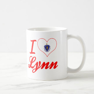 I Love Lynn, Massachusetts Classic White Coffee Mug
