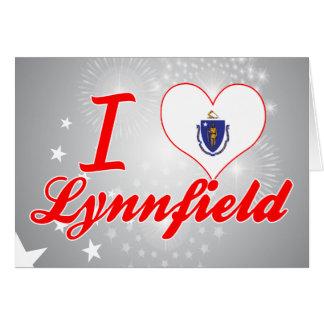 I Love Lynnfield, Massachusetts Card
