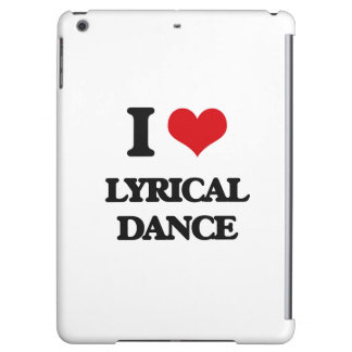 I Love Lyrical Dance iPad Air Cover