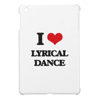 I Love Lyrical Dance iPad Mini Cover