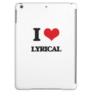 I Love Lyrical iPad Air Cases