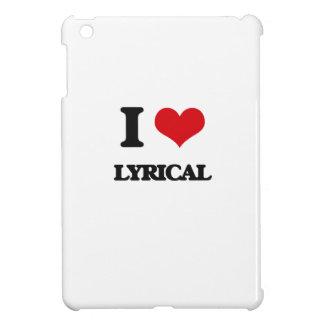 I Love Lyrical Cover For The iPad Mini