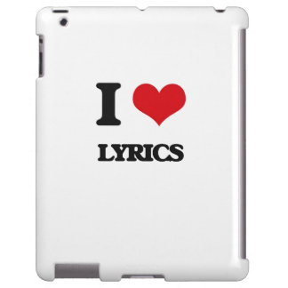 I Love Lyrics
