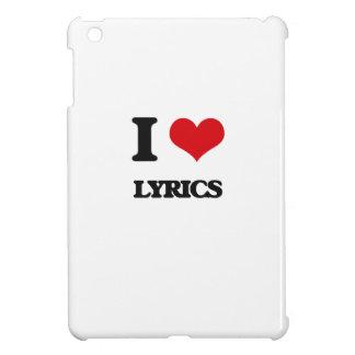 I Love Lyrics Cover For The iPad Mini