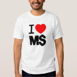I Love M$ (light) T-shirt
