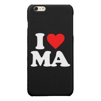 I LOVE MA GLOSSY iPhone 6 PLUS CASE