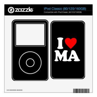 I LOVE MA SKIN FOR iPod