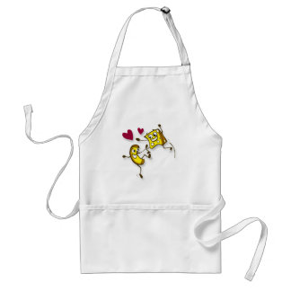 I love mac and cheese adult apron