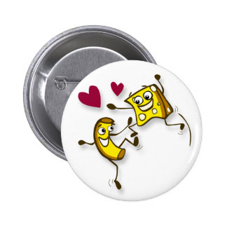 I love mac and cheese pinback buttons
