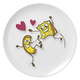 I love mac and cheese Plate