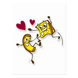 I love mac and cheese postcard
